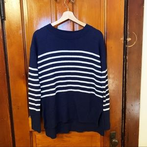 GAP Navy Striped Sweater